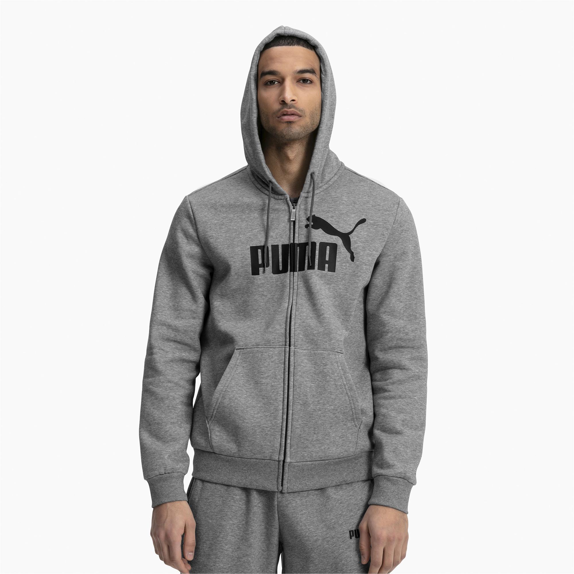 Мужская толстовка Puma Essential Hooded Full Zip 85176503