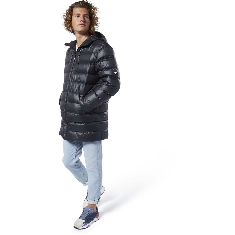 Мужская куртка Reebok Down Long Padded Hooded FZ DY6007