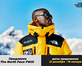 Предзаказ The North Face FW21